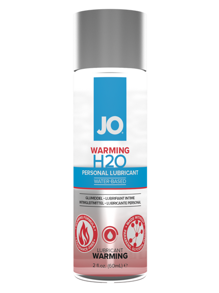 11941 - Lube, JO H2O - 2oz (Warming Formula)