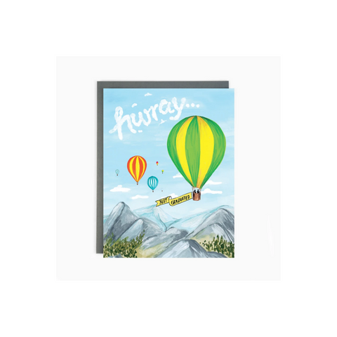 Graduation Card Balloons by Brockton Village