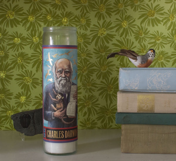 Unemployed Philosopher's Guild Darwin Secular Candle