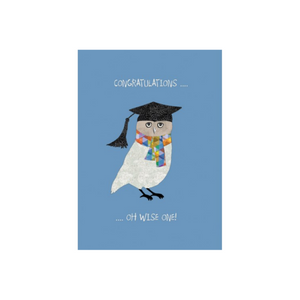 Graduation Card Oh Wise One by Calypso
