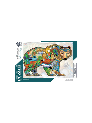Indigenous Collections Grizzly Bear Puzzle
