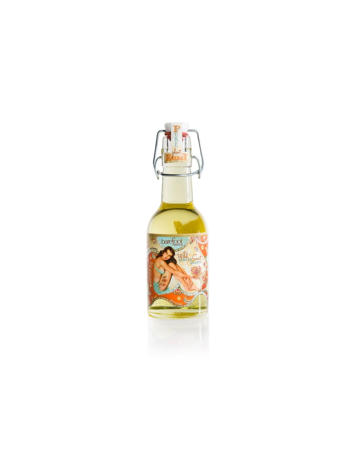 Barefoot Venus Wild Ginger and Orange Massage & Bath Oil