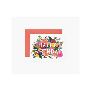 Rifle Inc. Juliet Rose Happy Birthday Card