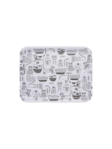Danica Purr Party Willow Rectangular Tray