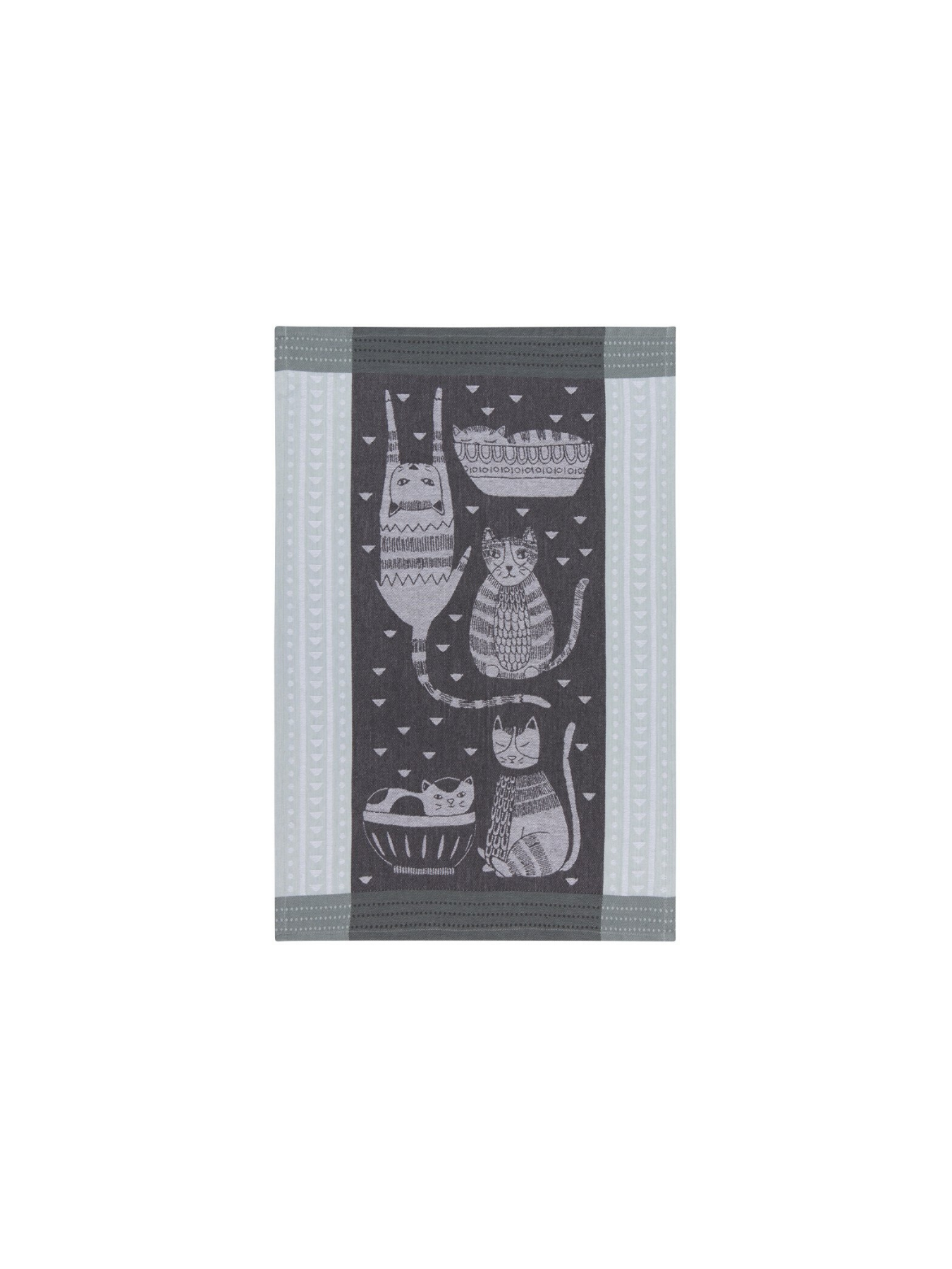 Danica Purr Party Jacquard Tea Towel