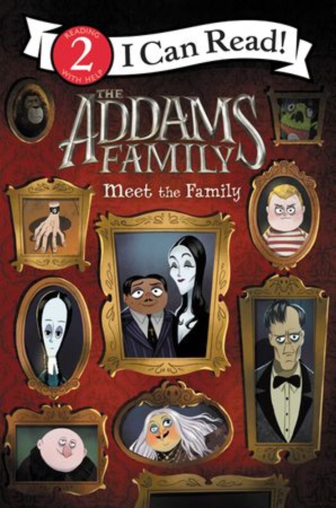 I Can Read: The Addams Family - Meet the Family