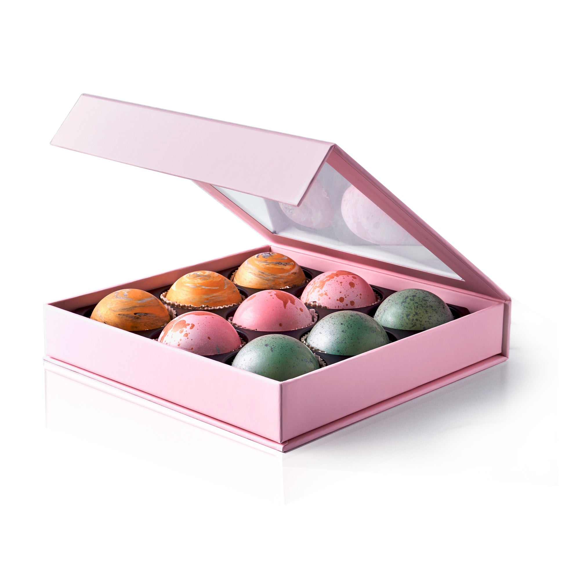 Flair Belgian Dark Chocolate Truffles, 9 pc.