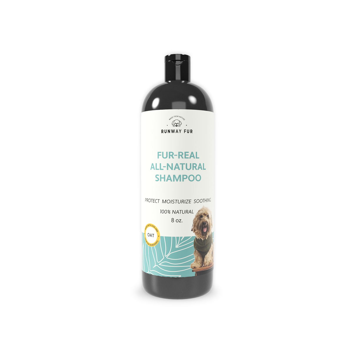 Oat all-natural dog shampoo for itch