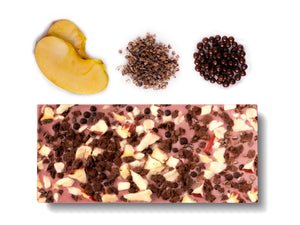 Ruby Chocolate - New York (Fuji Apple & Dark Chocolate Pearls)