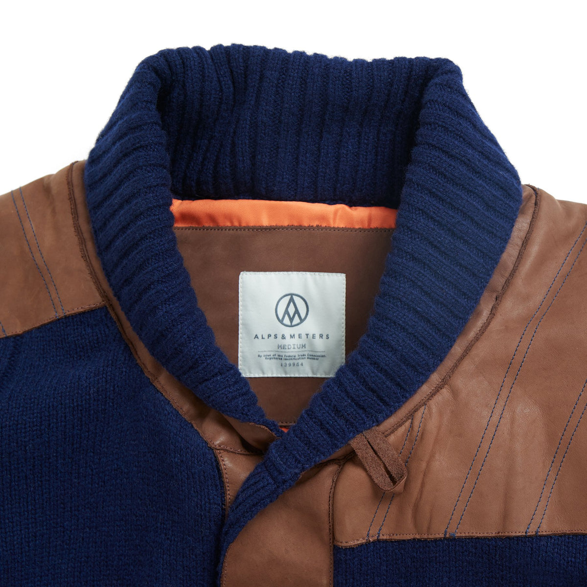 Shawl Collar Jacket-Alps&Meters