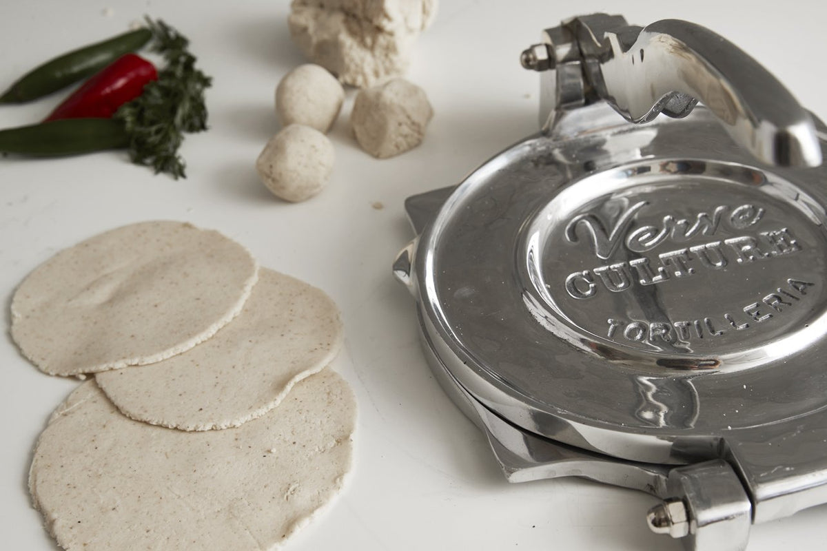 XL Tortilla Press - Polished Aluminum