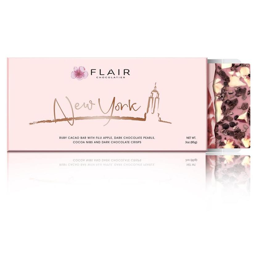 Flair Ruby Chocolate - New York (Apple & Dark Chocolate Pearls)