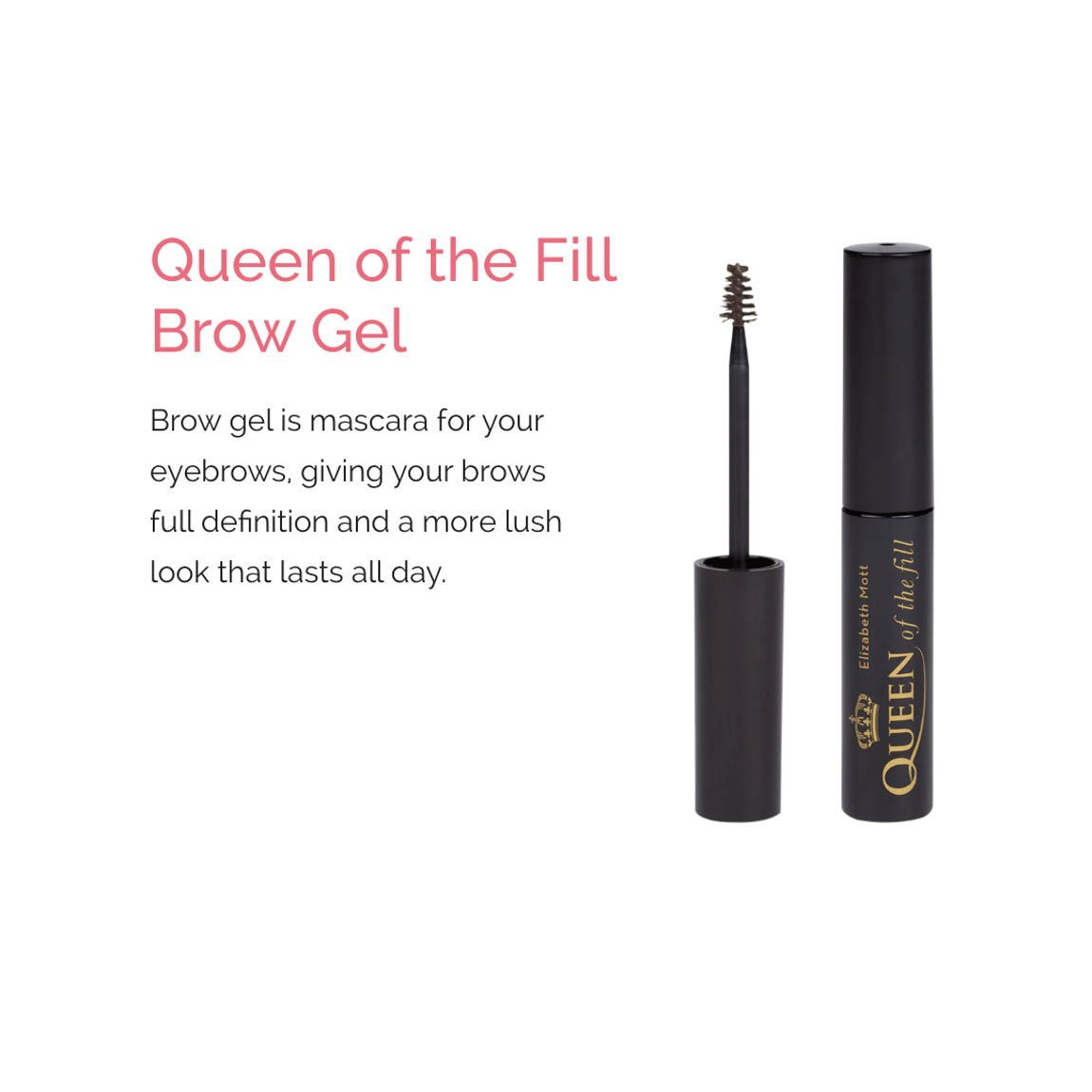 Queen of the Fill Brow Gel