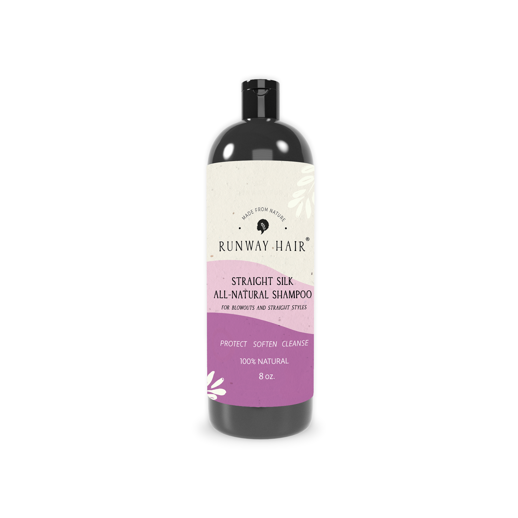 Straight Silk All Natural Shampoo (for Blowouts & Straight Styles)