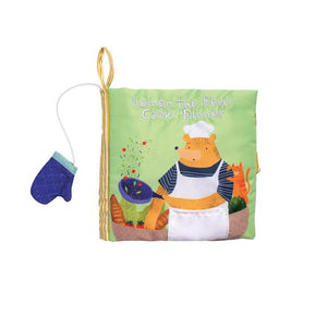 Manhattan Toy 'Lemon The Bear Cooks Dinner' - Soft Book