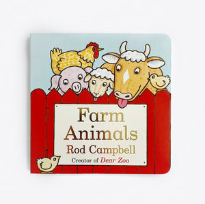 'Farm Animals' -  Board Book
