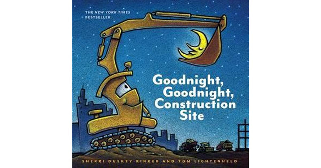 'Goodnight, Goodnight Construction Site' - Board Book by Tom Lichtenheld