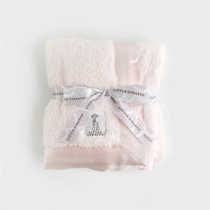 Little Giraffe Blanket - Pink