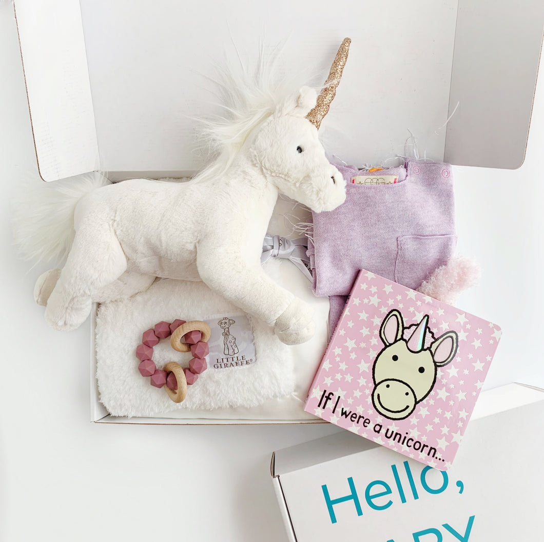 Stars & Unicorn Gift Box - EGG NY