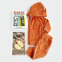 Load image into Gallery viewer, Velour Tracksuit Gift Box Set - Rust