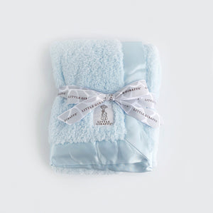 Little Giraffe Blanket- Blue