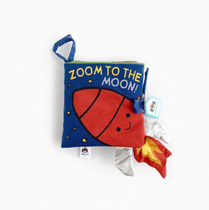 'Zoom To The Moon' - Soft Book
