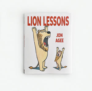 'Lion Lessons' - Hardcover Book