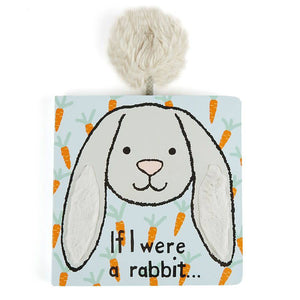 If I Were a Rabbit (Blue) - Board Book