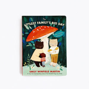 'Littlest Family's BIG Day' - Board Book