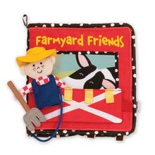 Load image into Gallery viewer, Manhattan Toy 'Farmyard Friends' - Soft Book