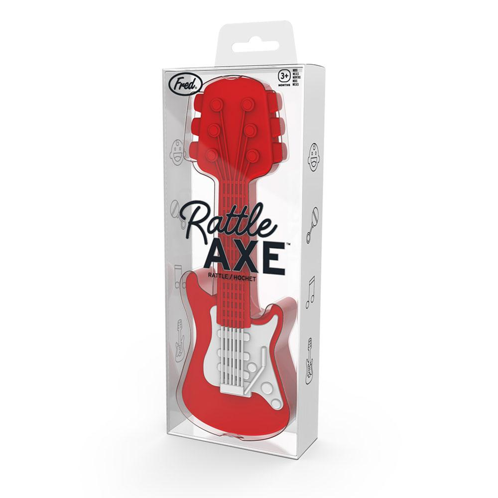 Rattle Axe - Guitar Baby Rattle