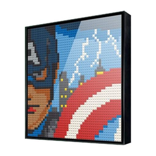 Captain America <br> 1 Big Board - PhotoBrickUSA