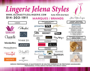 OUR BRANDS AT JELENA STYLES LINGERIE