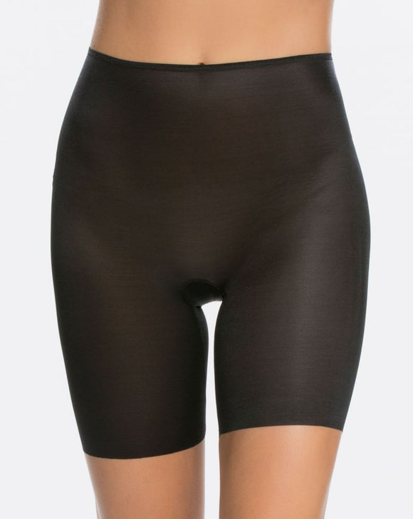 Spanx Second Skin Mid Thigh Short High To Waist 10008R