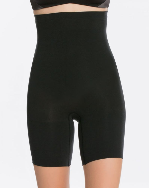 Spanx Mid Thigh High Waisted   Shaper Short