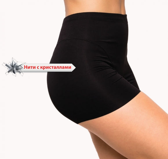 JSL Tummy Waist Firm Control High To Waist Short Legs Shorts 929-000