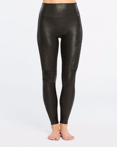 Spanx  Faux Leather Legging Strong Tummy Suport 20136R