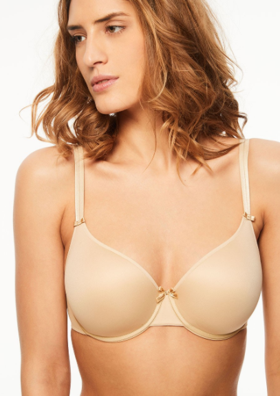 Chantelle Basic Invisible Smooth Custom Fit Bra 1241 Nude