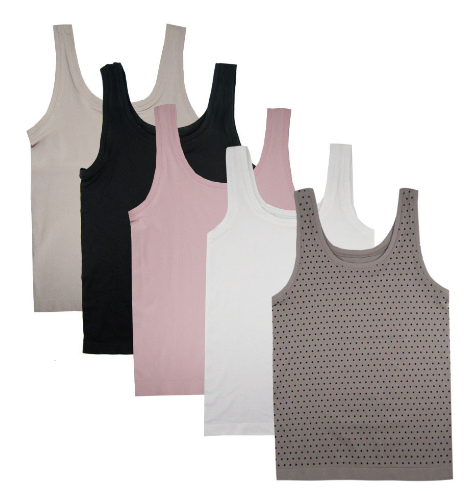 FEM Hertex Seamless Build Up Shoulder Camisole 294