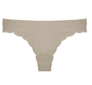 Hertex FEM Laser Cut Scalloped Thong 531
