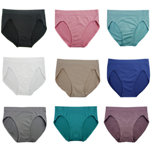 Hertex FEM Seamless High Cut Brief 356