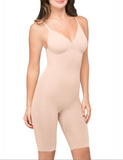 BodyWrap Bodysuite Long Leg Seamless Firm Suport With Underwire Bra 44300