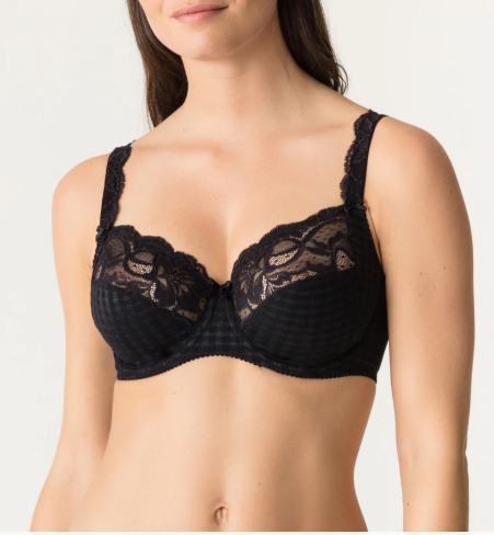 PrimaDonna Madison Full Cup Wire Bra 162120 Black