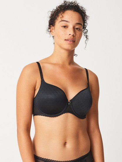 Chantelle Black Courcelles Covering spacer bra 6797