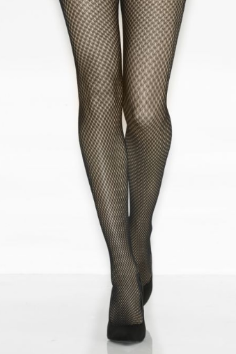 Mondor Tights Fishnet Double Motif Effect 5364