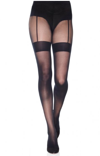 Mondor Tights Garter Belt Effect Microfiber 20 Denier 5720