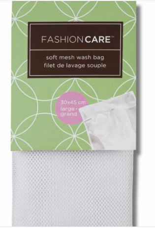 Fashion Care Soft Mesh Wash Bag