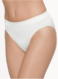 Wacoal White Seamless Hi-Cut Brief 834175