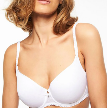 Chantelle Courcelles Covering spacer bra 6797 White