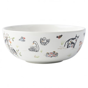 12 Days of Christmas Ice Cream/Cereal Bowl Set (4)